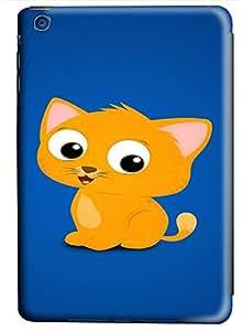 iPad Mini Cute Cartoon Cat PC Custom iPad Mini Case Cover