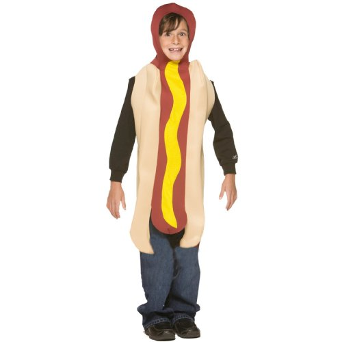 Rasta Imposta - Hot Dog Child Costume, One-Size (7-10) -