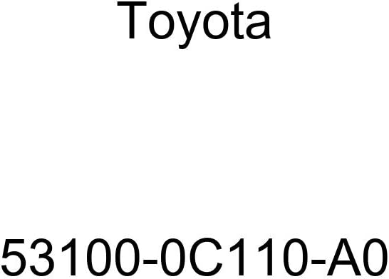 Toyota 53100-0C110-A0 Radiator Grille Sub Assembly