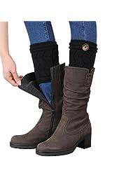 1 Pair Boot Cover, Changeshopping Women Brief Warmers Paragraph Leg Socks