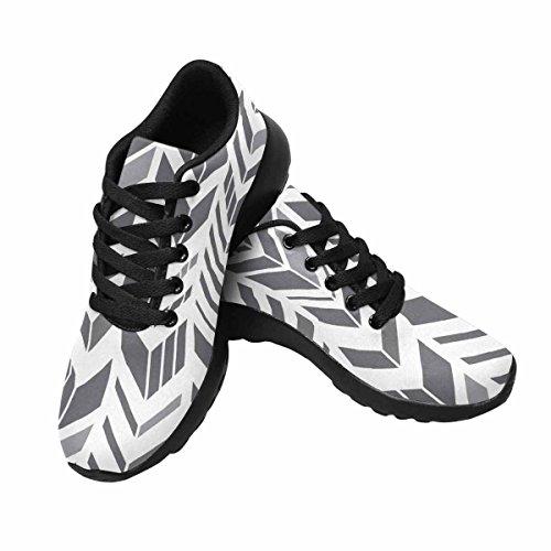 InterestPrint Womens Jogging Running Sneaker Lightweight Go Easy Walking Comfort Sports Running Shoes Multi 5 doJt8B3