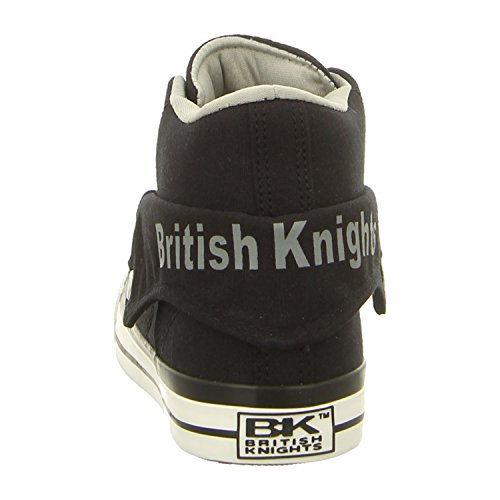 Men British Black Shoes Roco Knights Sneakers aq15q7wSx