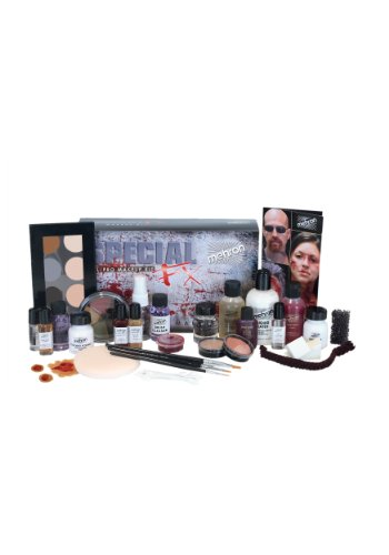 Mehron Special FX Kit (Halloween Zombie Makeup Instructions)