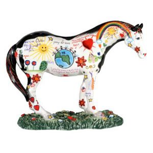 Enesco Trail of Painted Ponies from Children's Prayer Pony Figurine 6 in