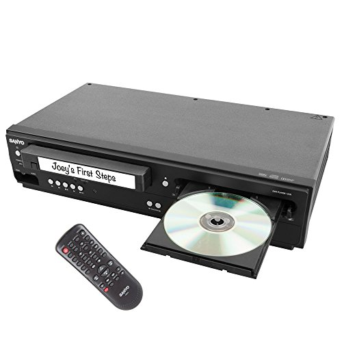 Sanyo FWDV225F DVD/VCR Player With Line-In Recording - Vcr Dvd Recorder Player
