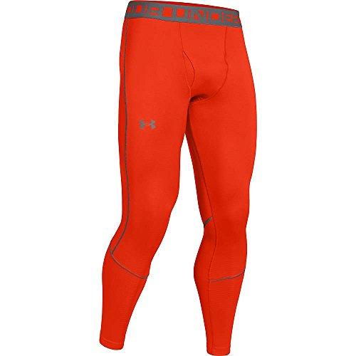 Under Armour ColdGear Infrared Grid Legging - Men's Volcano / Graphite Small