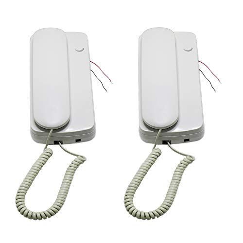hosecurity NEW Two Way Non Visual Wired Audio Intercom Doorphone by hosecurity