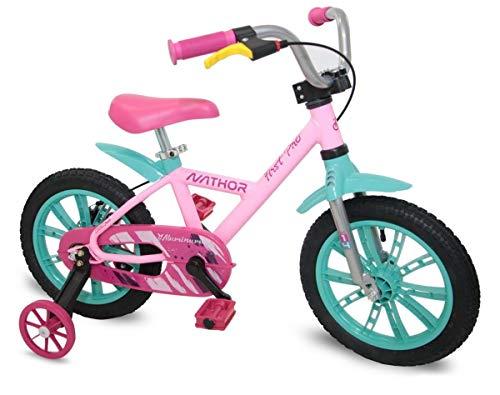 Bicicleta Aro 14 First Pro Rosa - Nathor