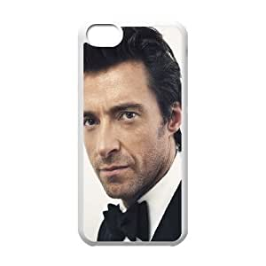 iPhone 5C Phone Case White Hugh Jackman Actor Hansome QU3I6AVD Cell Phone Case Wholesale