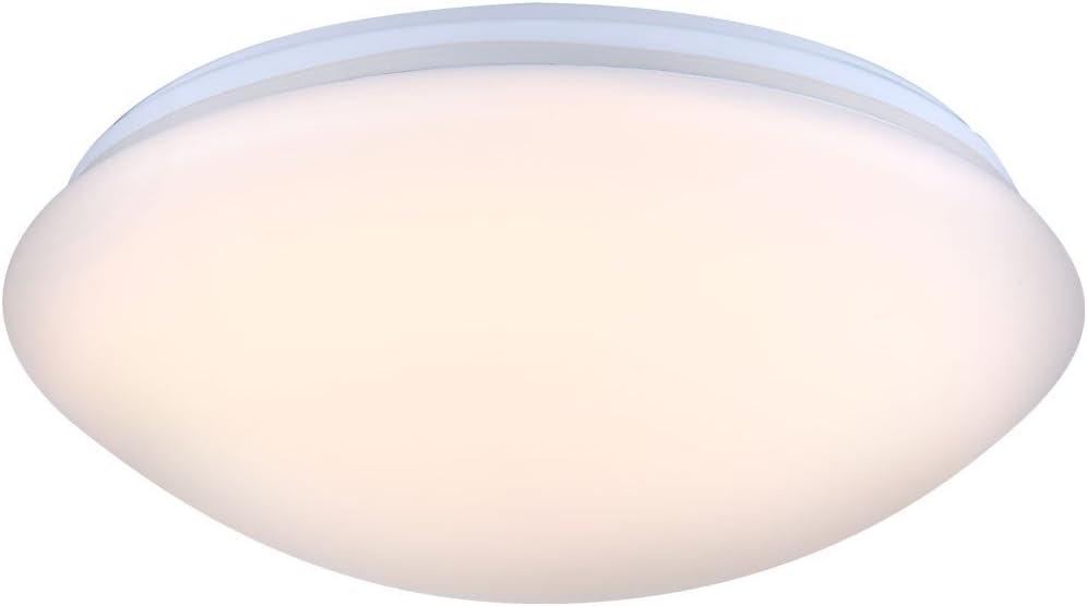 eckige LED Design Decken Lampen Bade Zimmer Holz Optik Flur Wohn Schlaf Leuchte