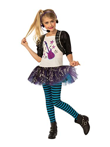 Best Rock Star Halloween Costume (Rubie's Opus Collection Rock Star Girl Costume,)