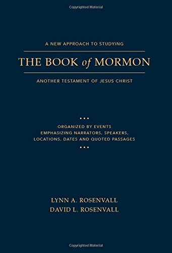 A New Approach to Studying the Book of Mormon: Another Testament of Jesus Christ cover
