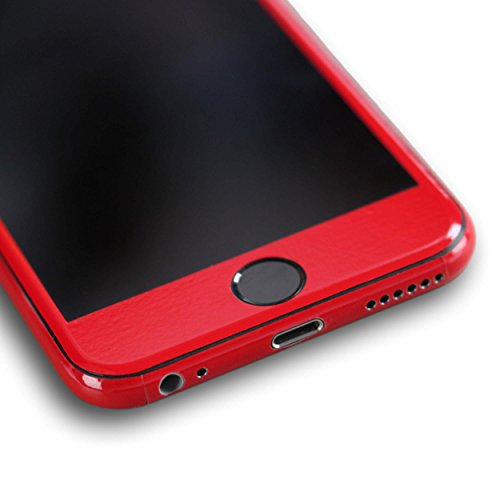 AppSkins Folien-Set iPhone 6s Full Cover - Brilliant Gloss Red