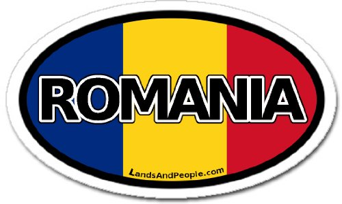 Romania Romanian Bumper Sticker Decal product image