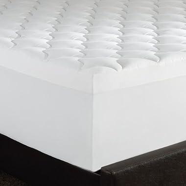 Serta Triple Layer Comfort, 4-Inch Memory Foam Mattress Topper, Queen