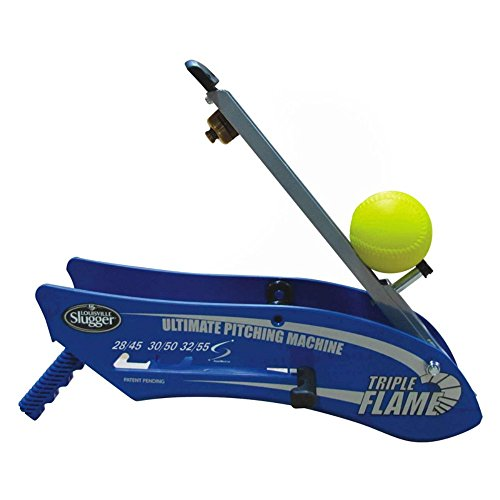 G Master Louisville Slugger Triple Flame Pitching Machine by Louisville Slugger