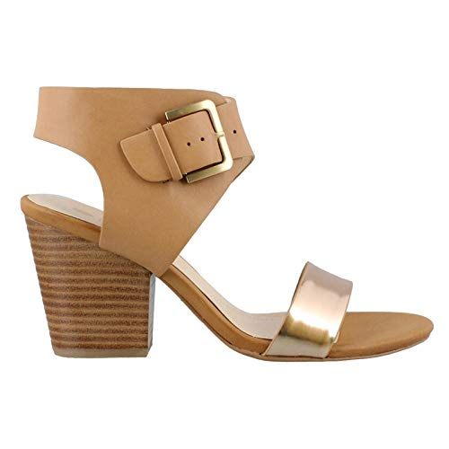 STUDIO ISOLA Women's, Lacina High Heel Sandals TAN 9.5 M