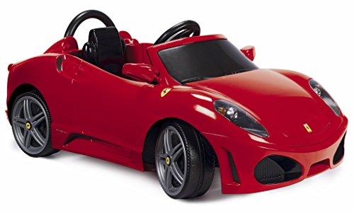 Feber Montable Ferrari F430 1, Volante con Luces y Sonidos, Color Rojo