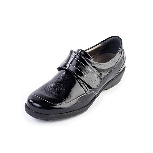 shoe touch ee sole slip with non footcare wide 'jenny' fit free lightweight horn fastening support PIqIHrw