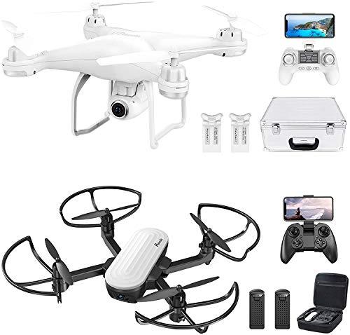Potensic Elfin 2K FPV Foldable + Drone Potensic T25 2K GPS Drone