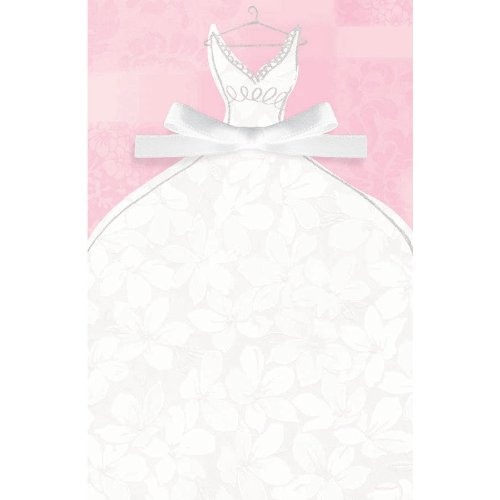(imprintable invitation bridal gown )