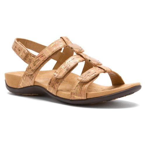 Gold Rest Cork Vionic Synthetic Sandals Womens 44 Amber xzaaEYfq