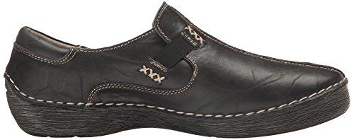 Lente Stap Dames Coed Instappers Loafer Zwart
