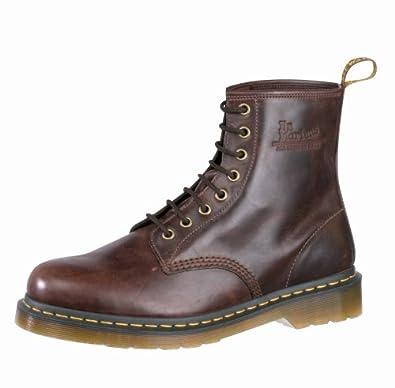 d28b1e89e45 Dr. Martens Men Original 1460 Dark Brown Black Trim 11822206 6 UK ...