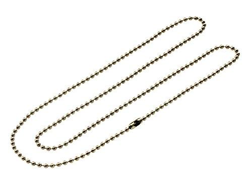 Productos de acero inoxidable Lucky Line 60,96 cm cadena del cuello, 1 por tarjeta (31601)