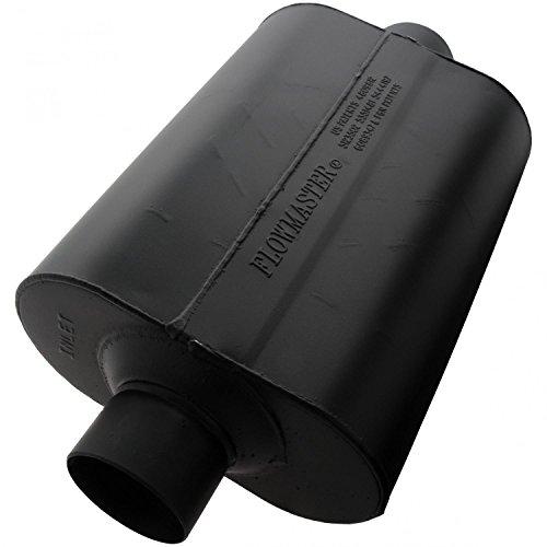Super 40 Muffler - Flowmaster 953045 Super 40 Muffler - 3.00 Center IN / 3.00 Center OUT - Aggressive Sound