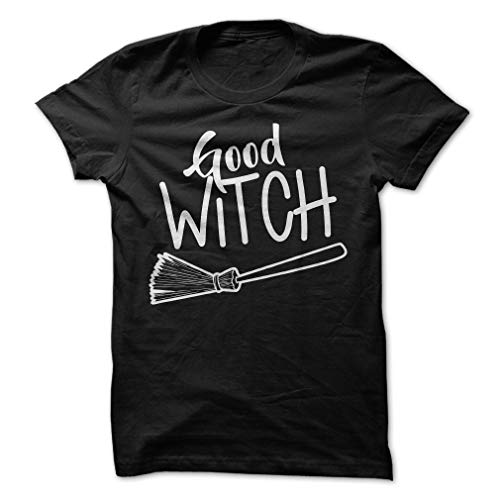Good Witch Halloween T-Shirt Funny Costume Cute Party Tee -
