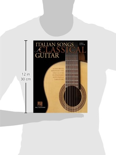 Amazon.com: Italian Songs for Classical Guitar: Standard Notation ...