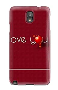 Fashionable Style Case Cover Skin For Galaxy Note 3- Happy Valentine Day