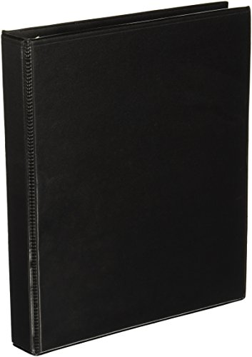 60 off simply 5 inch round 3 ring view binder black 21683