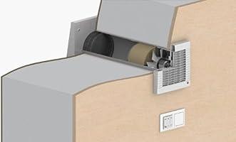 Turbo Dezentrale Wohnraumlüftung zum Nachrüsten, mit Wärmerückgewinnung GD55
