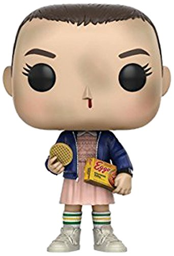 Funko Pop Stranger Things Eleven With Eggos Vinyl Figure   Styles May Vary   With Without Blonde Wig