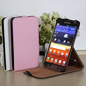 New Flip PU Leather Stand Case Cover For Samsung Galaxy Note i9220 --- Color:Black