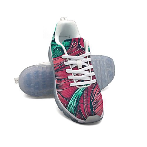 for sale under $60 EUUAIR Women's Trippy Skull Anstronaut Fitness Air Cushion Shoes Gym Running Walking Sneakers footlocker pictures for sale outlet best amazing price cheap price SzfQd