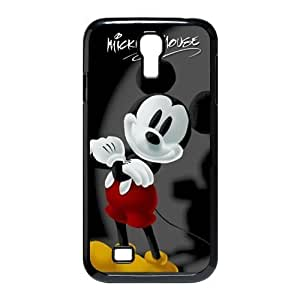 1pc Rubber Snap On Case Cover Skin For Samsung Galaxy S4 i9500, Mickey Mouse Galaxy S4 Covers