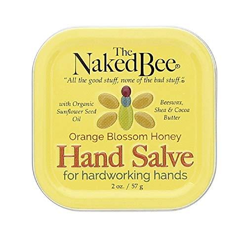 The Naked Bee Hand Salve, Orange Blossom Honey, 2 Ounces (3 Packs)     -