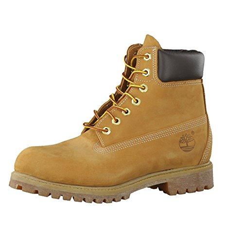 Timerbland Men's 6 inch Premium Waterproof Boot, Wheat Nubuck, 11 W