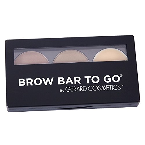 Gerard Cosmetics Brow Bar to Go - Medium/Ebony by Gerard Cosmetics by Gerard Cosmetics