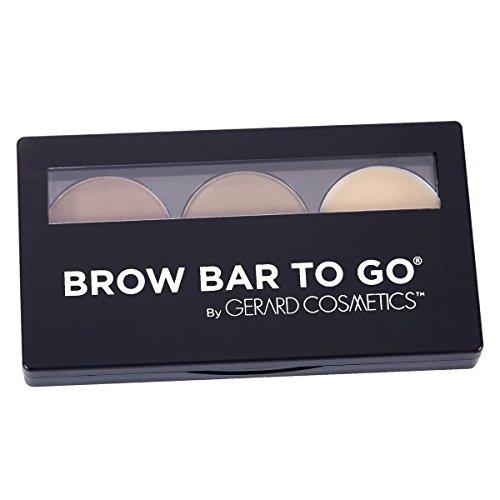 Gerard Cosmetics Brow Bar to Go - Medium/Ebony by Gerard Cosmetics by Gerard Cosmetics