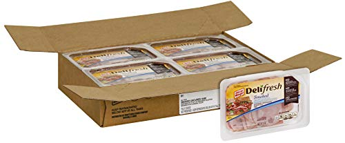 Oscar Mayer Deli Fresh Shaved Smoked Ham, 9 Ounce -- 8 per case.