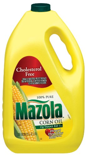 Mazola Corn Oil, 1 Gallon (Pack of 2) by Mazola