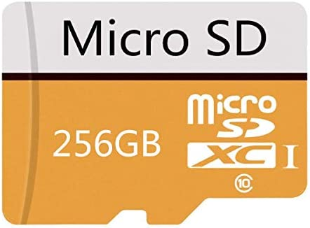 Micro SD Card 256GB High Speed Class 10 Micro SD SDXC Card with Adapter