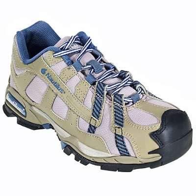 Nautilus Safety Footwear Women's 1354,Khaki/Blue,7.5 D US