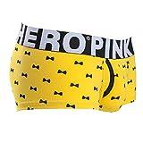 Yliquor Pink Heroes Fashion Printed Cotton Men's