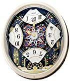 NEW! Seiko Clock - ''Melodies In Motion: Kaleidoscope'' Musical Wall Clock QXM239SRH