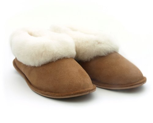 Mens Womens Portuguese Traditional Sheepskin Slippers Boots